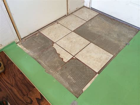 Thinset For Porcelain Tile by Demolition What Is The Right Way Tool To Remove This