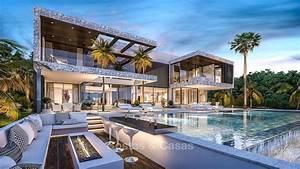 Luxe Moderne Villa Te Koop In Marbella Aan Golf Met Zeezicht