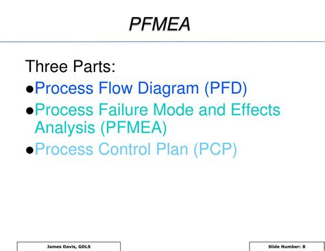 process failure modes and effects analysis ppt pfmea process failure mode and effects analysis