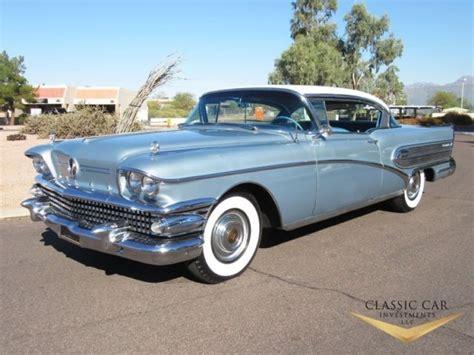 1958 Buick Roadmaster 75 Riviera 2dr Ht