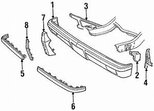 Chevrolet V20 Cushion  Strip  Chevrolet  Gmc  Bumper
