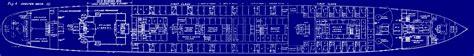 Titanic B Deck Plans by All Things Titanic Blueprints