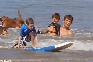 Tom Brady splashed around with his sons. | Bikini-Clad ...