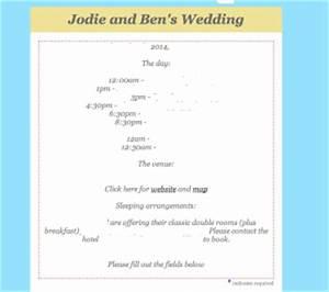 how to create wedding invitations using mailchimp jc With wedding invitation decline etiquette