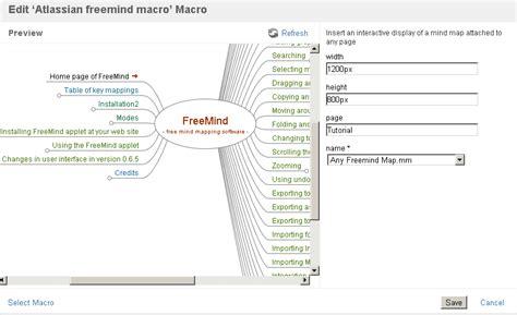 freemind plugin  confluence atlassian marketplace