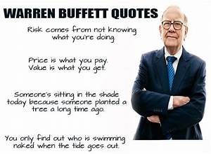 Life is so Sunny: Quotes By Warren Buffett