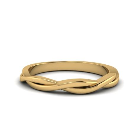 twisted vine wedding band   yellow gold fascinating