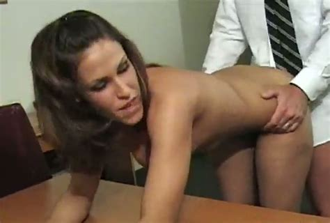 Sex Starved Office Chick Gets Brutally Fucked From Behind