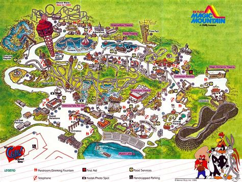 Back from the dead: Theme Park Map Day – DC's