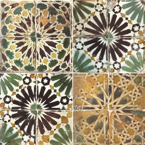andalusian tiles tile spain pottery patterns