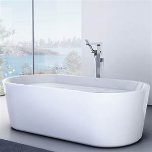 Caroma Aura Freestanding Bath 1800mm Thrifty Plumbing