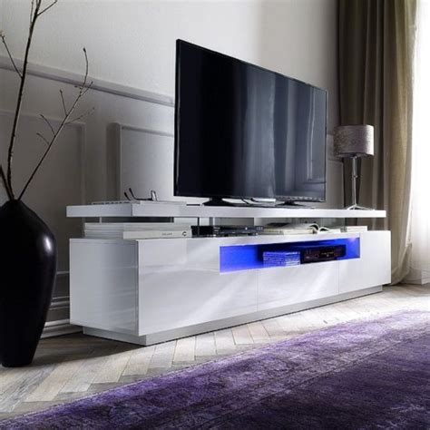 white gloss oval tv stands tv stand ideas