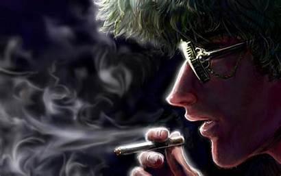 Anime Smoking Attitude Boy Wallpapers Weed Smoke