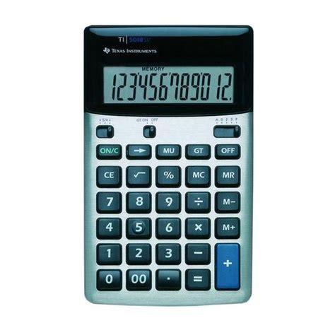 calculatrice bureau calculatrice de bureau ti 5018 achat vente
