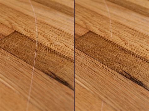 hardwood floor scratches easily repairing scratched hardwood floors with walnuts review does it work green idea reviews