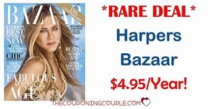 Magazine Bazaar Harpers Thecouponingcouple Ads