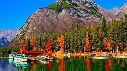 Banff Wallpapers National Park Canada Lake Herbert