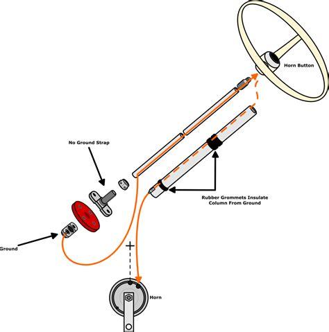 Parts Jbugs Stock Steering Wheel Horn Diagrams