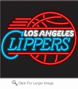 Los Angeles Clippers Neon Sign only $299 99 Neon NBA Signs