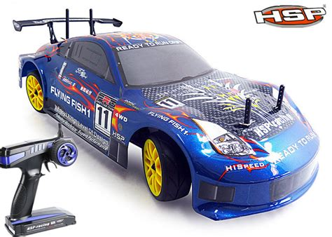 Free Shipping Hsp Rc Drift Car 1/10 Scale Models 4wd Nitro