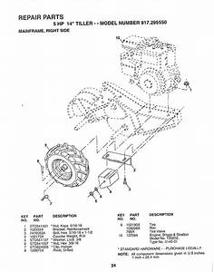 Page 24 Of Craftsman Tiller 917 29555 User Guide