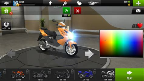 satisfy your need for two wheel speed with traffic rider