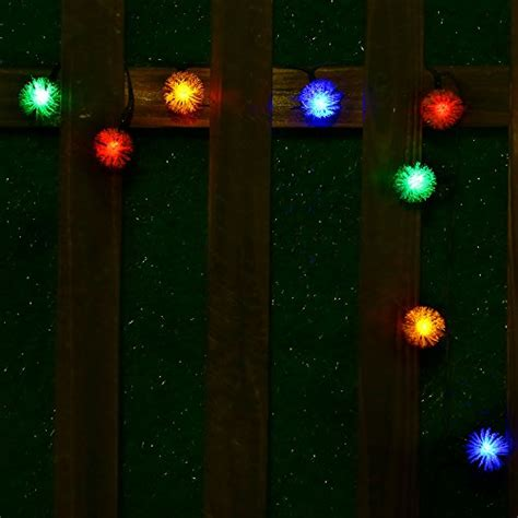 solar outdoor string lights easydecor chuzzle 50 led