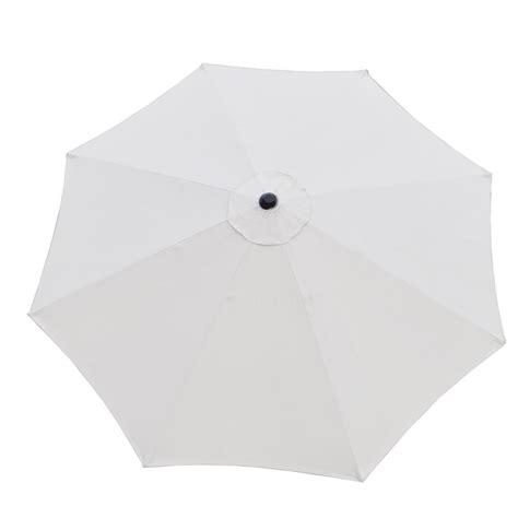 white patio umbrella base oakland living 9 ft patio umbrella in white with patio