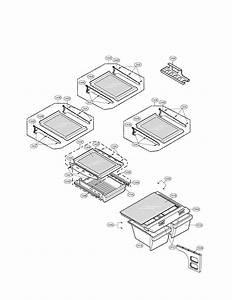 Refrigerator Diagram  U0026 Parts List For Model Lfc20760st Lg