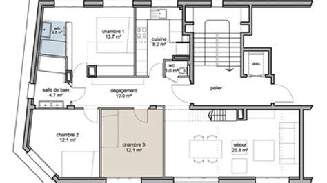 gallery of glamorous plan pour maison plan appartement ct maison plan pour maison de with plan