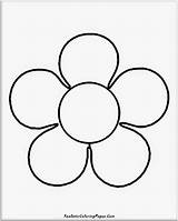 Coloring Simple Flower Printable Realistic Nature Sheets Flowers Popular Mesmerizing Shape Basic Benzoh Tallennettu Taeaeltae Dk sketch template