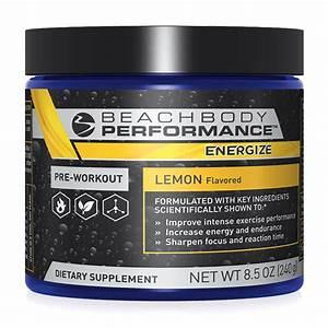 Energize – Pre-Workout Formula - Beachbody Performance ...