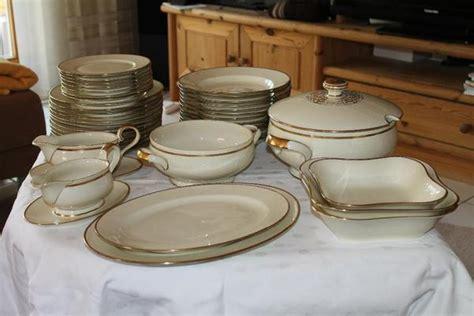 eschenbach elfenbein porzellan eschenbach bavaria elfenbein porzellan 41 teiliges essservice in gro 223 krotzenburg glas