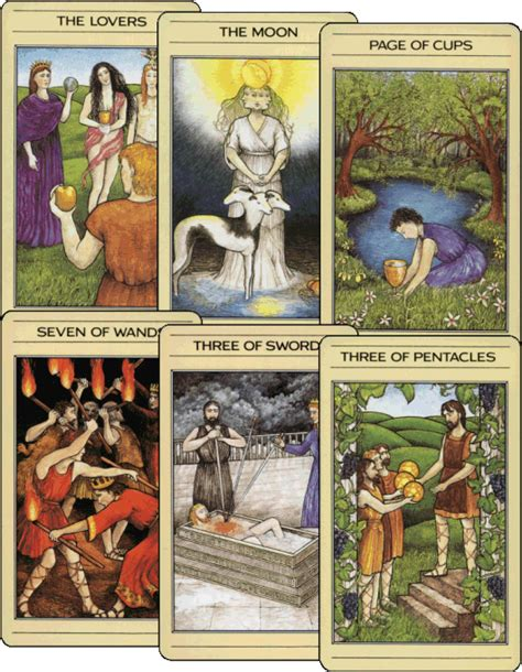 mythic tarot deck meanings un familiar of edinburgh pagan celtic eclectic
