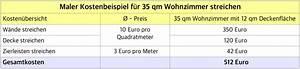 Kosten Anbau 20 Qm : maler preise im berblick 2018 ~ Lizthompson.info Haus und Dekorationen