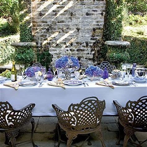 lavender table l exquisite events rustic purple table setting