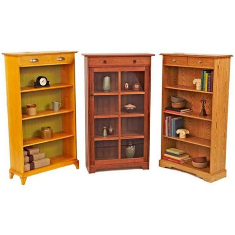 wood magazine bookcase plans woodworking projects plans