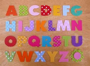 box style iron on fabric letters 32cm uppercase fabric With iron on fabric letters