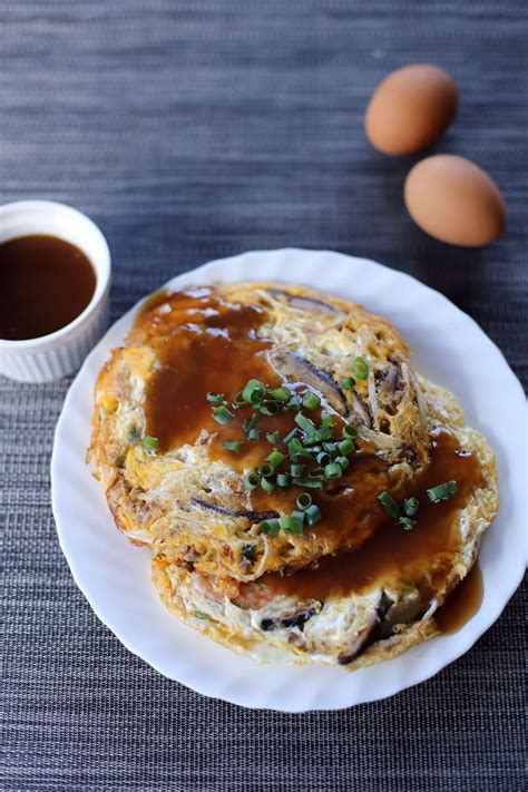 egg foo gravy egg foo young healthy but way too high in sodium very special treat only for me goodies to