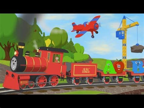 alphabet train   objects  letter youtube