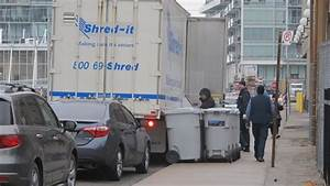 Shred it trucks still rule the roost on freeland st for Document shredding pick up