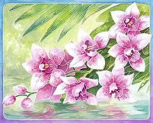 Aquarell Blumen Malen : blumen malen mit aquarell blumen dekoration ideen ~ Frokenaadalensverden.com Haus und Dekorationen