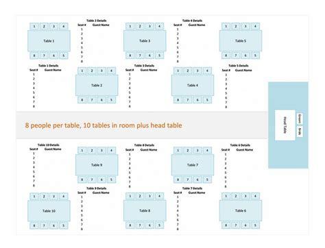 table charts for wedding reception printable templates printable microsoft templates