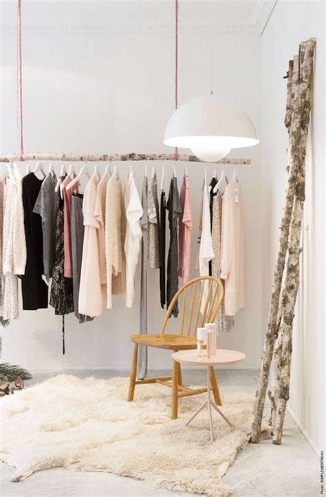 how to make hanging clothes rack 26 clothes racks for homes with no closet space digsdigs