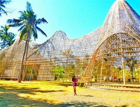 rumah bambu pengalon  bali bible