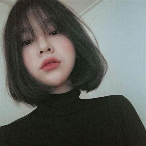 korean haircuts  bangs
