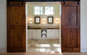 using barn doors as a statement in interior design With barn door examples