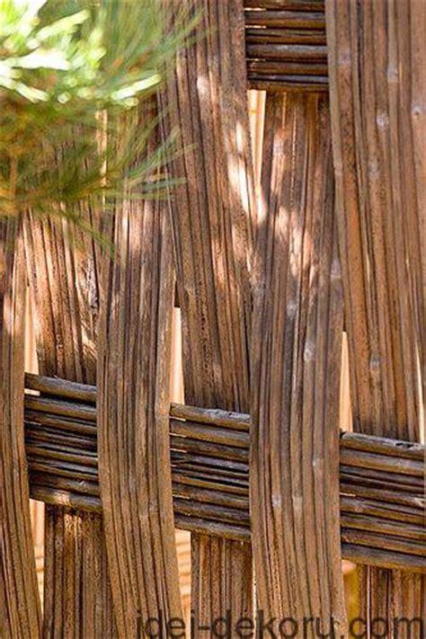 ideas   wicker fence  san francisco california