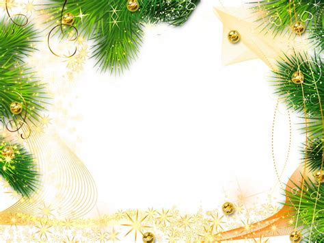 Christmas Border Wallpaper