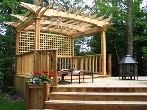 Pergola Lighting Ideas by Garden Decks Patio Toronto By Jws Woodworking And